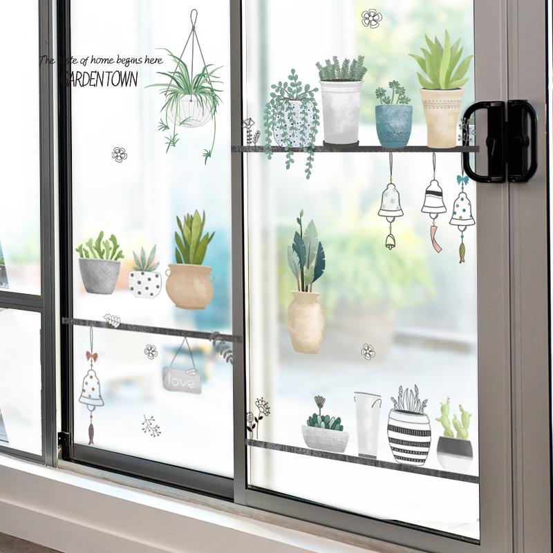 窗花贴 玻璃贴 幼儿园