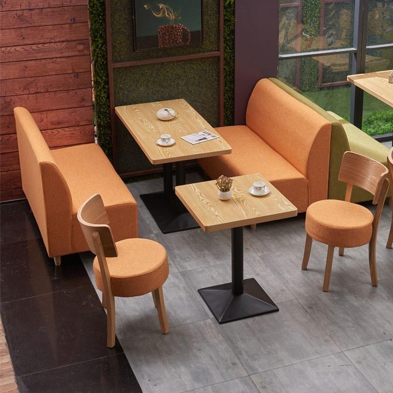 工厂直销实木软包布艺沙发KTV商场等各种家具支持来图定制