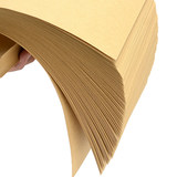 A4 kraft paper cowhide printing paper cover paper A3 kraft paper hard thick wrapping paper cover paper bag book paper