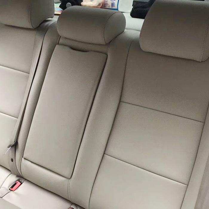 汽车翻毛皮顶棚满天星改装内饰升级翻新 包真皮座椅订制安装