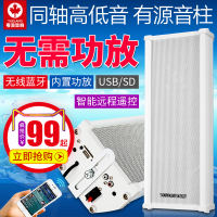 Yuelang H502 active speaker Bluetooth shop advertising audio outdoor wall speaker waterproof column set