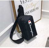 Net red recommended genuine purchasing Japanese version of the crossbody bag chest bag shoulder bag tide brand men bag handbag