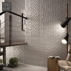 小方块年轮阳台客厅装饰仿木纹砖瓷砖电视背景墙文化砖墙砖300600图片