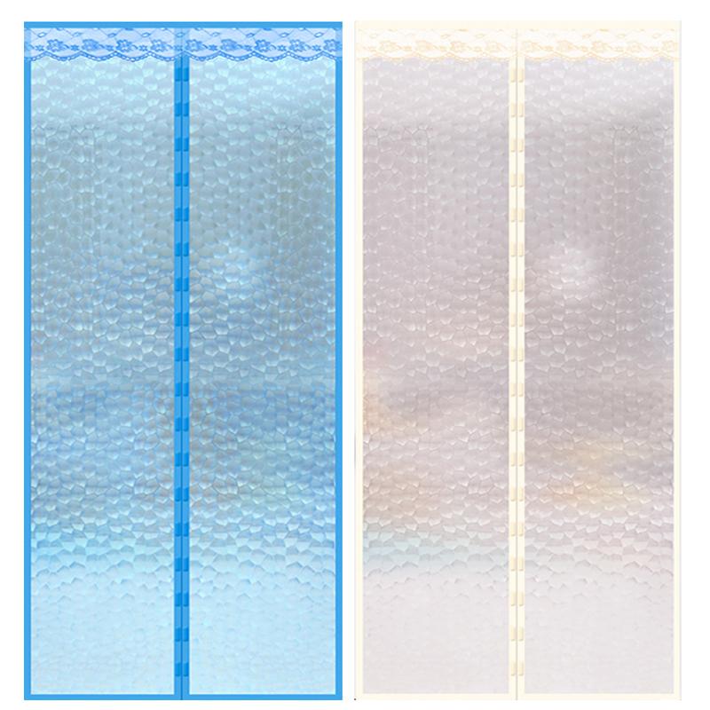 空调门帘防风厨房防油烟防蚊家用冷气挡风隔断塑料半透明防热门帘