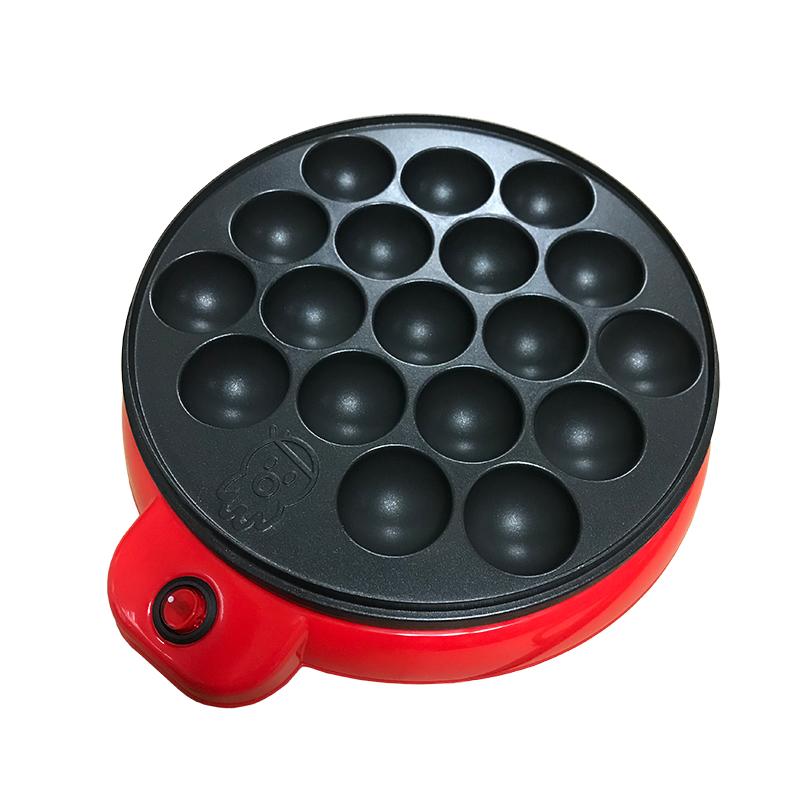 原装出口家用章鱼小丸子机电热章鱼烧烤盘鸡蛋仔机器烤鸟蛋模具
