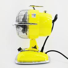 香港IMASU6寸复古飞机头电风扇仿古台扇摇头桌面摆件创意顺丰包邮