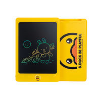 Jaco B.Duck small yellow duck children's hand-painted plate LCD flexible screen earthquake-resistant anti-fall canvas graffiti small blackboard