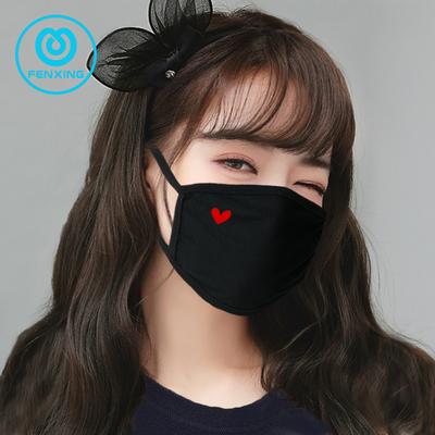 口罩女春夏骑行透气男黑潮款女神时尚个性可爱卡通韩版秋纯棉口罩