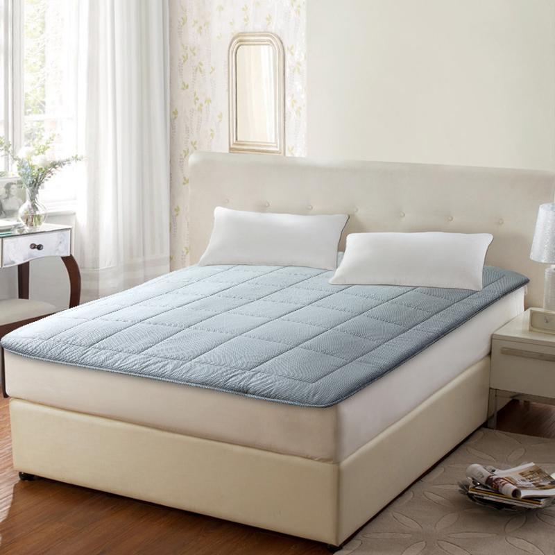 梦洁家纺纯棉床垫舒柔软垫1.5m/1.8m床上用品官方正品官网旗艦店