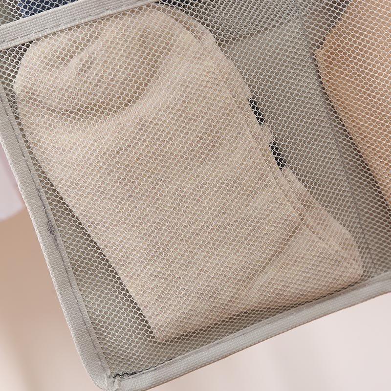 装内衣内裤收纳储物袋挂袋放袜子悬挂墙挂式布艺宿舍门后衣柜收纳