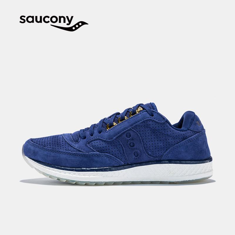 Saucony圣康尼 高端跑鞋FREEDOM RUNNER 舒适缓震跑步鞋女S300011