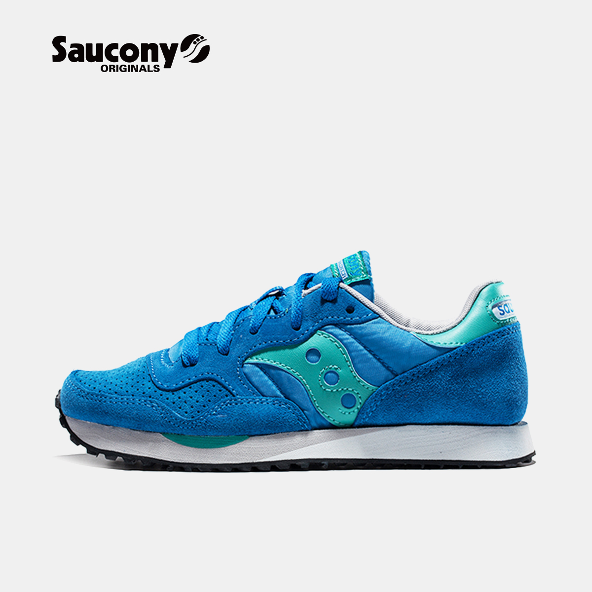 Saucony圣康尼 DXN TRAINER 复古跑鞋运动鞋女子跑步鞋S60124-A