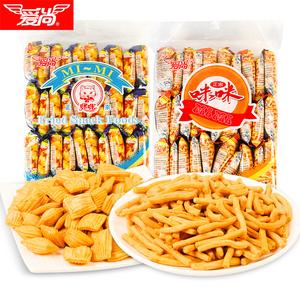 正宗咪咪虾条蟹味粒休闲食品膨化