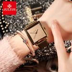 聚利时手表方形经典简约方盘女表皮带手表中性时尚手表 JA-354
