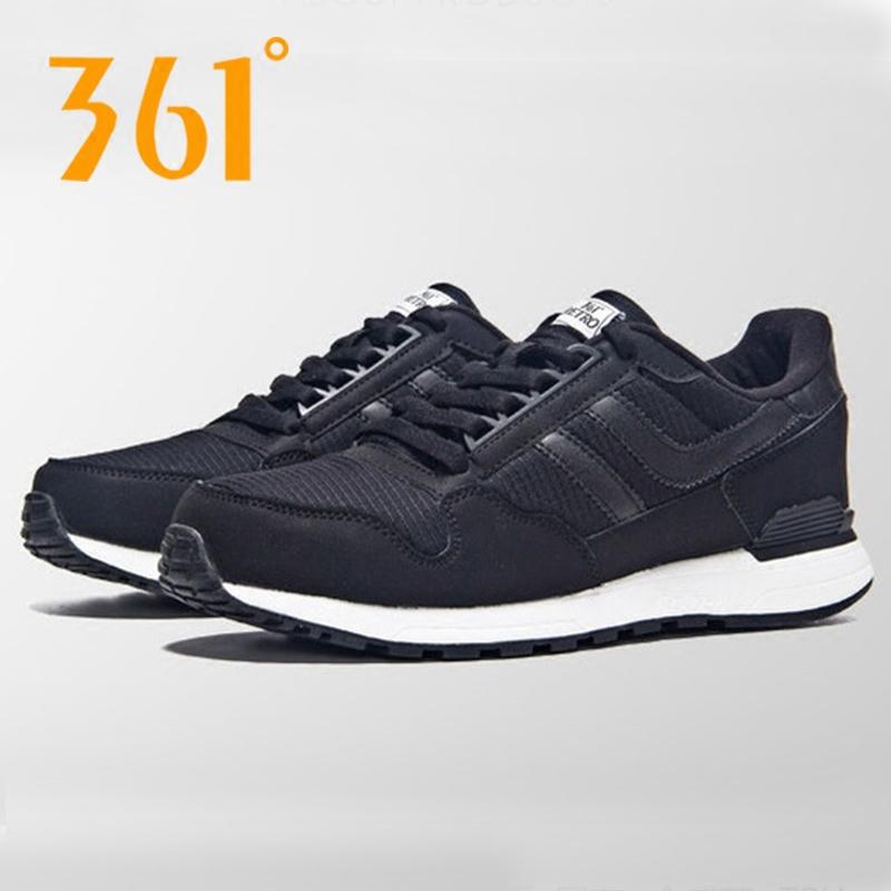 361度男鞋运动鞋秋冬季新款防滑休闲复古慢跑鞋361保暖跑步鞋男