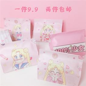 少女心清新 PU皮可爱卡通桌面纸巾套 粉色宿舍家用车用纸巾盒