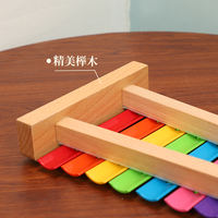 Music player knocking piano boy girl baby child puzzle music toy 1-3 year old baby octave small xylophone set