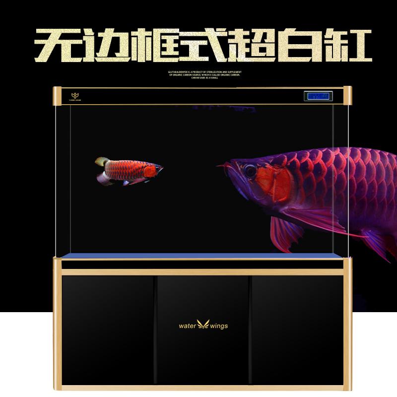 鱼缸隔断屏风