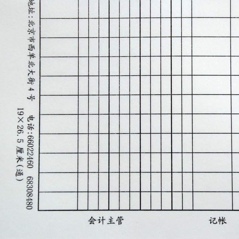 成文厚 记账凭证汇总表 记帐凭证汇总表 丙式-145-1 190*265mm