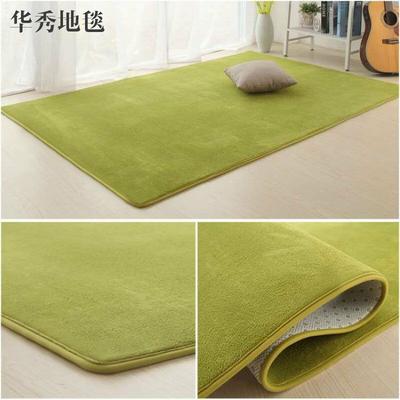 珊瑚絨地毯客廳茶幾沙發家用房間臥室床邊滿鋪榻榻米簡約現代地毯今日特惠