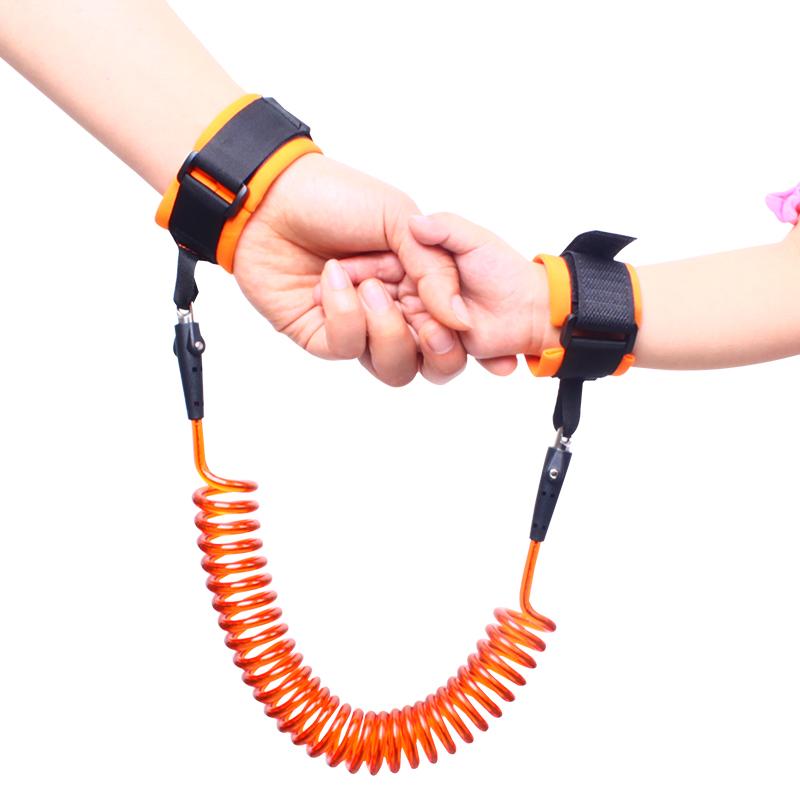 防走失带宝宝牵引绳儿童安全绳小孩防走丢手环背包子母环溜娃绳秋