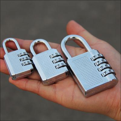小中大号密码锁 挂锁 柜子锁 大门锁健身房柜子抽屉锁防锈挂锁头