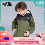 TheNorthFace North Children's Wear 2019 New Spring and Summer Boys Children's Jackets Outdoor Waterproof 3CR9