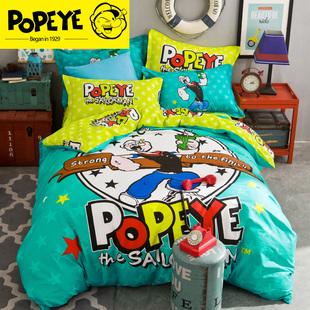 纯棉四件套全棉夏季床品床单被套1.5米1.8m三件套床上用品包邮