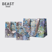 THE BEAST/Fauves new Monet Garden paper bag only with the purchase of gift box packaging bags