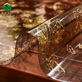 软玻璃餐桌垫茶几隔热垫塑料pvc水晶板欧式防水防烫防油免洗桌布