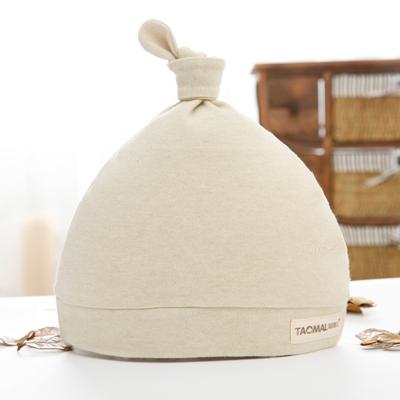 新生儿帽子春秋男孩0-3个月胎帽子纯棉6小婴儿婴幼儿一个月薄款