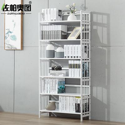 佐帕奥图 书架简易实木落地白色学生书架置物架现代简约储物书柜排行榜