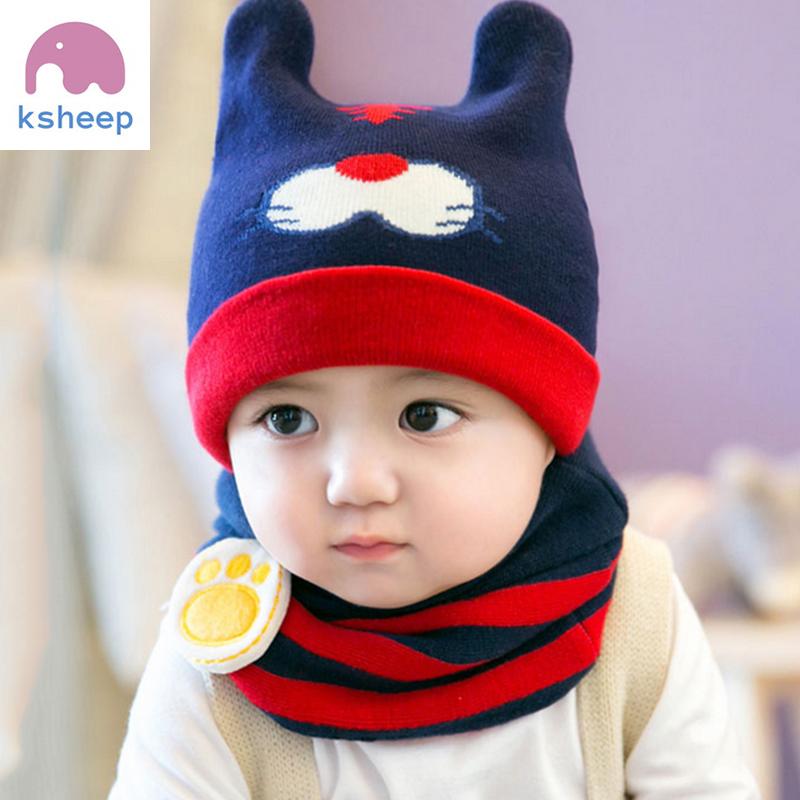 韩版男女宝宝帽