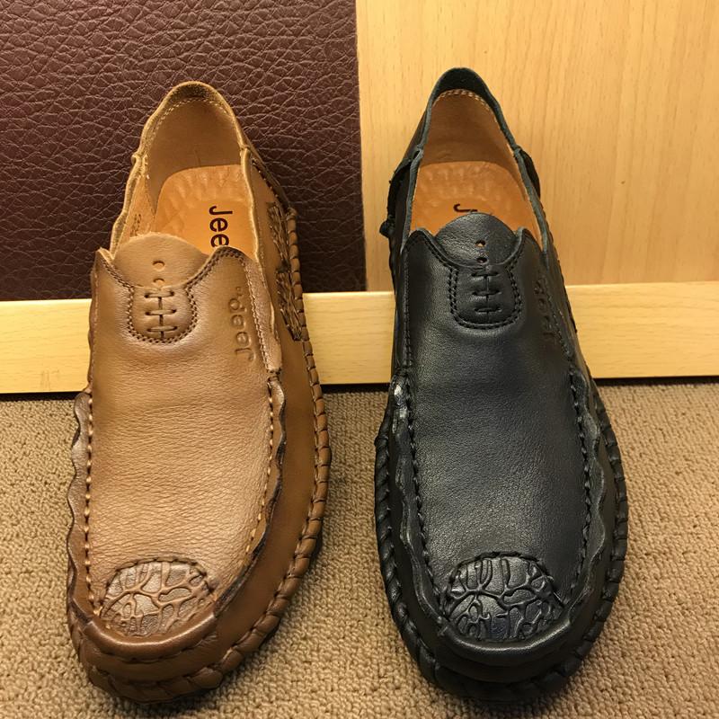 牛皮运动鞋外贸