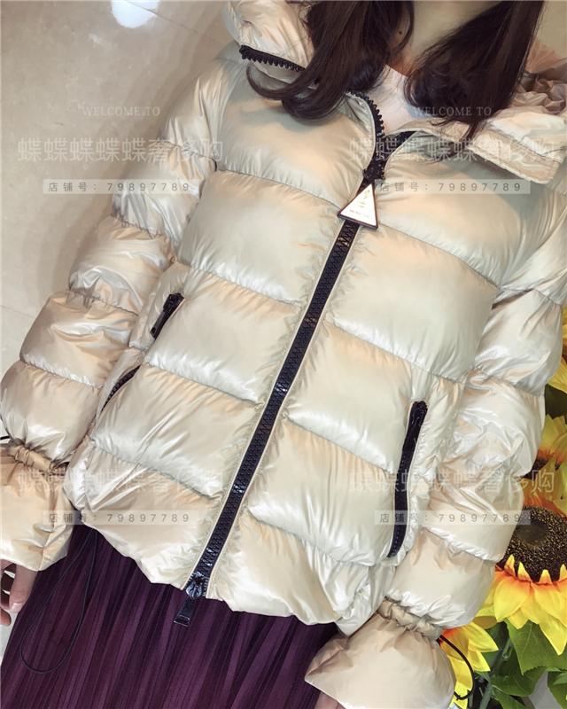 【折扣代购】 法国正品MONCLER CHANTILLY羽绒服女短款娃娃款连帽