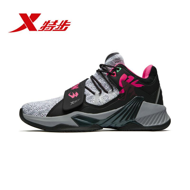 游云3代 特步篮球鞋男2019秋季新品舒适轻便透气运动球鞋防滑耐磨