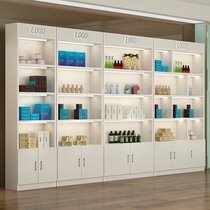 化妆品展示柜美容美发护肤品店展柜美甲饰品店货柜货架产品展示架