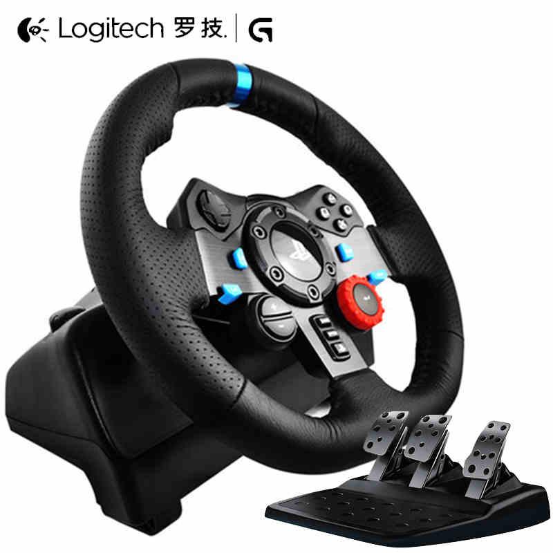 顺丰 罗技G29赛车游戏模拟驾驶方向盘 PS3/PS4极品飞车手柄900度