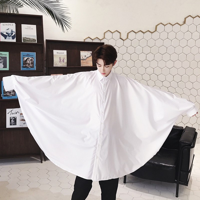 男款白衬衣秋季