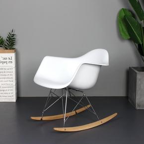 北欧ins风网红摇椅躺椅家用阳台休闲椅伊姆斯懒人沙发椅设计师椅