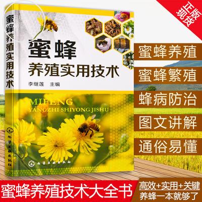 正版 蜜蜂养殖实用技术 蜜蜂养殖技术大全书 科学饲养蜜蜂教程蜜蜂繁殖 蜂病技术书 养蜂指南 密蜂繁殖四季管理病虫害防治书籍