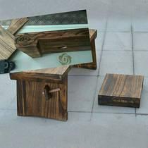 复古怀旧古琴桌古琴凳实木桐木双层可折叠式琴桌凳包邮