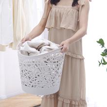 镂空脏衣篮塑料洗衣篮手提鸟巢收纳篮玩具衣物浴室脏衣服收纳日式
