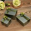 绿色喜糖盒