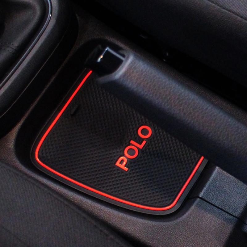 大众11-18款POLO专用内饰改装装饰用品防滑垫 波罗汽车摆件配件
