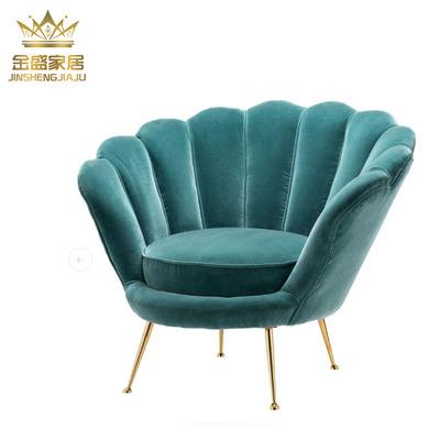 美式乡村实木老虎椅 欧式布艺高背单人沙发 法式客厅休闲椅沙发椅