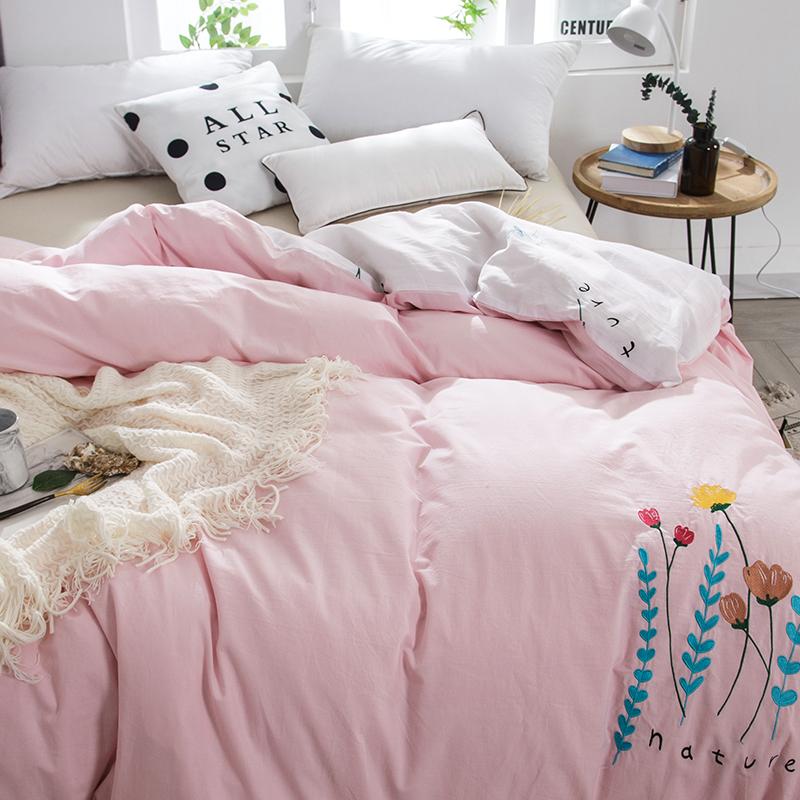 南极人水洗棉被套单件全棉加厚双人2.0米被罩子秋冬纯棉床上用品