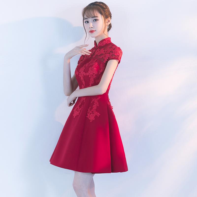 歌绒GR15B3398旗袍
