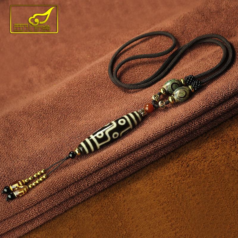 西藏天珠项链