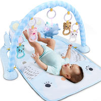 Baby toy pedal piano fitness frame 0-1 year old boy newborn baby 3-6-12 months early education girl